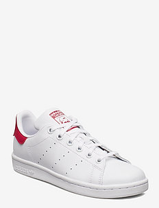 STAN SMITH J - low tops - ftwwht/ftwwht/bopink