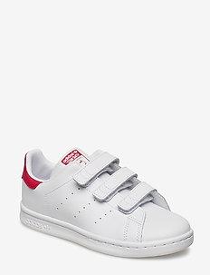 STAN SMITH CF C - sneakers - ftwwht/ftwwht/bopink