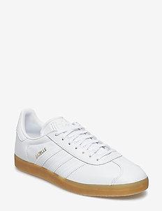 GAZELLE - laag sneakers - ftwwht/ftwwht/gum4