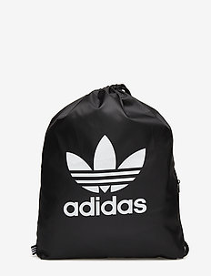 GYMSACK TREFOIL - sports bags - black
