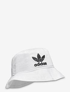 BUCKET HAT AC - bucket hats - white