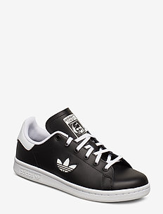 STAN SMITH J - CBLACK/FTWWHT/FTWWHT