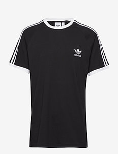 3-STRIPES TEE - topy sportowe - black