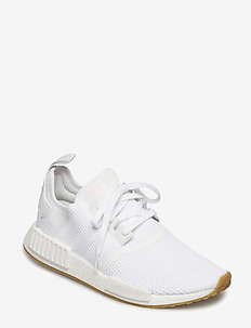 NMD_R1 - laag sneakers - ftwwht/ftwwht/gum3