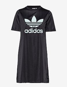 TEE DRESS - BLACK