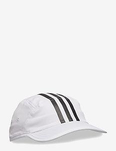 TECH 3 STRI CAP - WHITE/BLACK