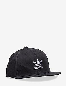 AC CAP TRE FLAT - BLACK/WHITE