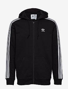 3-Stripes Hoodie - bluzy z kapturem - black