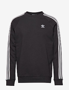 3-STRIPES CREW - BLACK