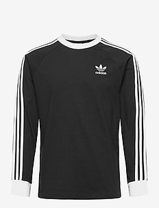 3-STRIPES LS T - langermede topper - black