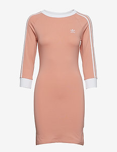3 STRIPES DRESS - DUSPNK