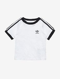 3-Stripes Tee - short-sleeved t-shirts - white/black