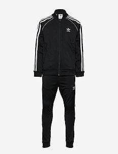 SUPERSTAR SUIT - BLACK/WHITE
