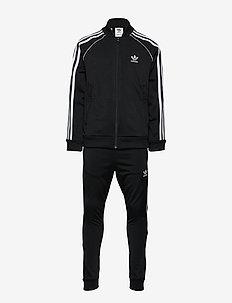 SUPERSTAR SUIT - trainingsanzug - black/white