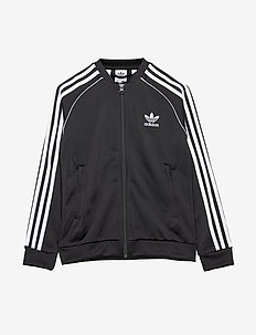 SUPERSTAR TOP - sweatshirts - black/white