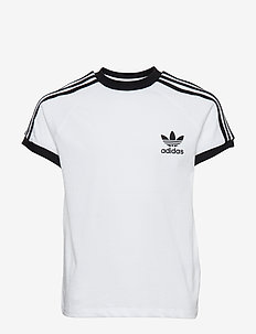 3STRIPES TEE - WHITE/BLACK