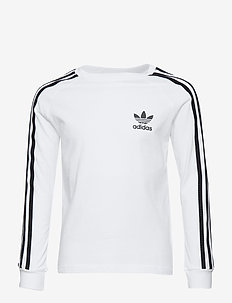 3STRIPES LS - WHITE/BLACK