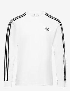 3-STRIPES LS T - sweatshirts - white