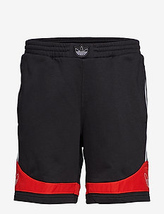 TS TRF SHORT - BLACK/CORRED