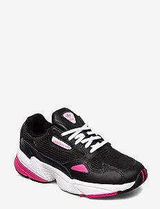 FALCON W - chunky sneakers - cblack/shopnk/ftwwht