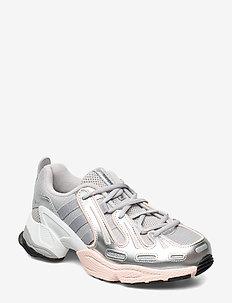 EQT GAZELLE W - chunky sneakers - gretwo/msilve/icepnk