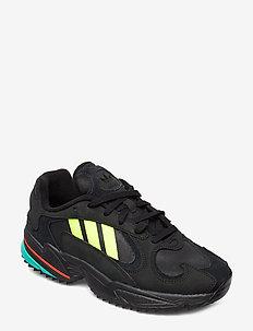 YUNG-1 TRAIL - lave sneakers - cblack/syello/hiraqu