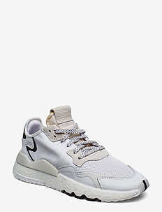 NITE JOGGER - lave sneakers - ftwwht/ftwwht/crywht