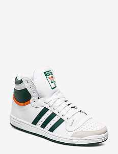 TOP TEN HI - FTWWHT/CGREEN/ORANGE
