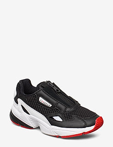 FALCON ZIP W - CBLACK/FTWWHT/RED