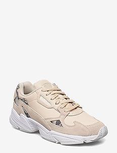 FALCON W - lave sneakers - linen/ftwwht/cblack