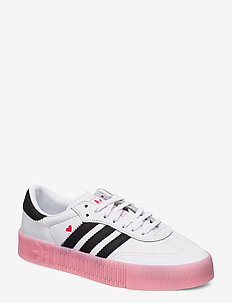 SAMBAROSE W - lave sneakers - ftwwht/cblack/glopnk
