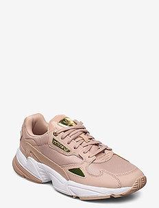 FALCON W - chunky sneakers - ashpea/goldmt/ftwwht