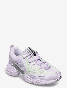 EQT GAZELLE W - lave sneakers - prptnt/prptnt/silvmt