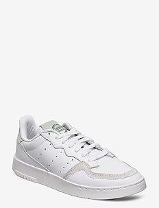 SUPERCOURT W - låga sneakers - ftwwht/dshgrn/cblack