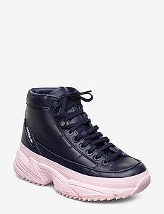 KIELLOR XTRA W - chunky sneakers - conavy/conavy/clpink