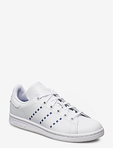 STAN SMITH J - sneakers - ftwwht/ftwwht/royblu