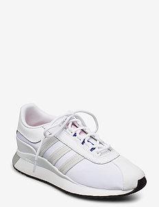 SL ANDRIDGE W - låga sneakers - ftwwht/greone/cblack