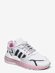 NITE JOGGER W - chunky sneakers - ftwwht/trupnk/cblack