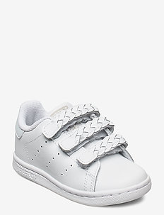 STAN SMITH CF I - sneakers - ftwwht/ftwwht/greone