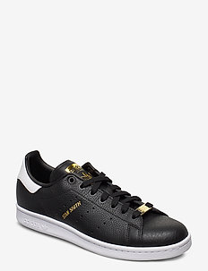 STAN SMITH - lave sneakers - cblack/cblack/ftwwht