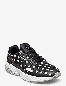 FALCON W - chunky sneakers - cblack/crywht/gretwo