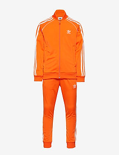 SUPERSTAR SUIT - ORANGE/WHITE