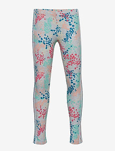 FLW LEGGINGS - MULTCO/WHITE