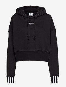 VOCAL CROP HOOD - BLACK