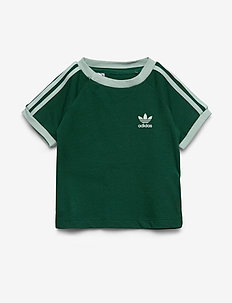 3STRIPES TEE - CGREEN/VAPGRN