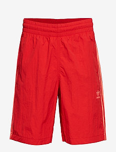 3-STRIPES SWIM - SCARLE/FLARED