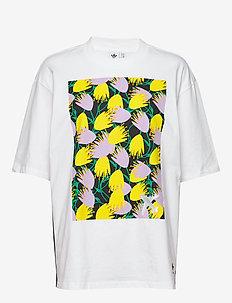 GRAPHIC TEE - logo t-shirts - white