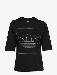 T SHIRT - logo t-shirts - black