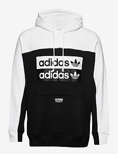 D OTH HOODY - BLACK/WHITE
