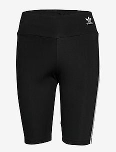 SHORT TIGHTS - training korte broek - black/white